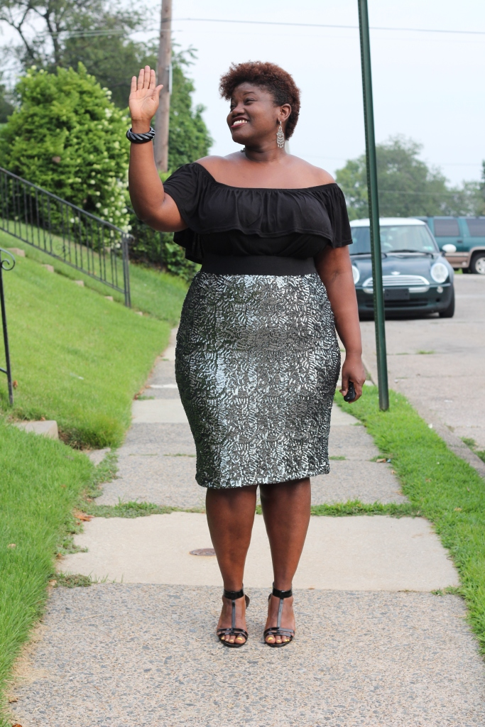 curvy women, curvy, curvy girls, plus size fashion, sequin skirt, michelle obama inspired, plus size bloggers, plus size blogs, curvy blogs, curvy bloggers, 40 plus blogs, black women bloggers, black personal style blogs