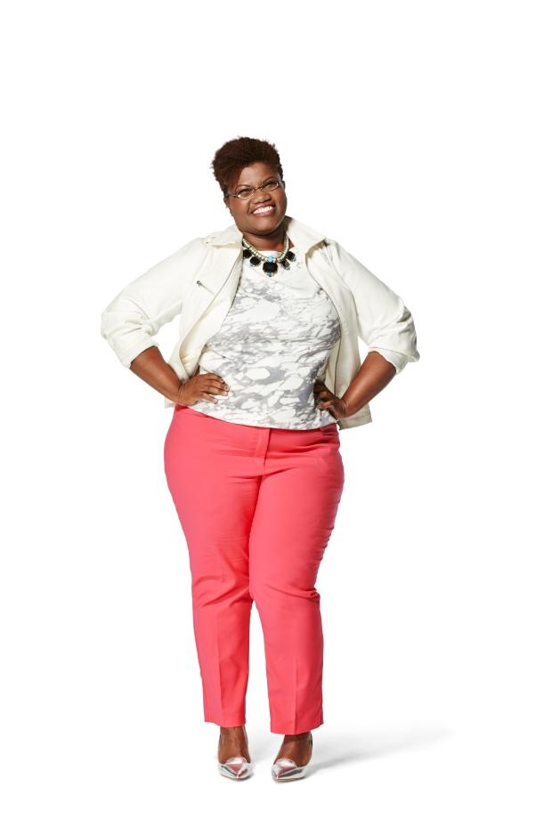 curvy, curvy women, curvy girls, jibri, midi skirts, plus size midi skirts, printed skirts, motorcycle jacket, gap moto jacket, neon, bright colored moto jackets, plus size fashion, plus size bloggers, plus size blogs, curvy bloggers, curvy blogs, fat blogs, fat bloggers, redbook style awards, redbook magazine