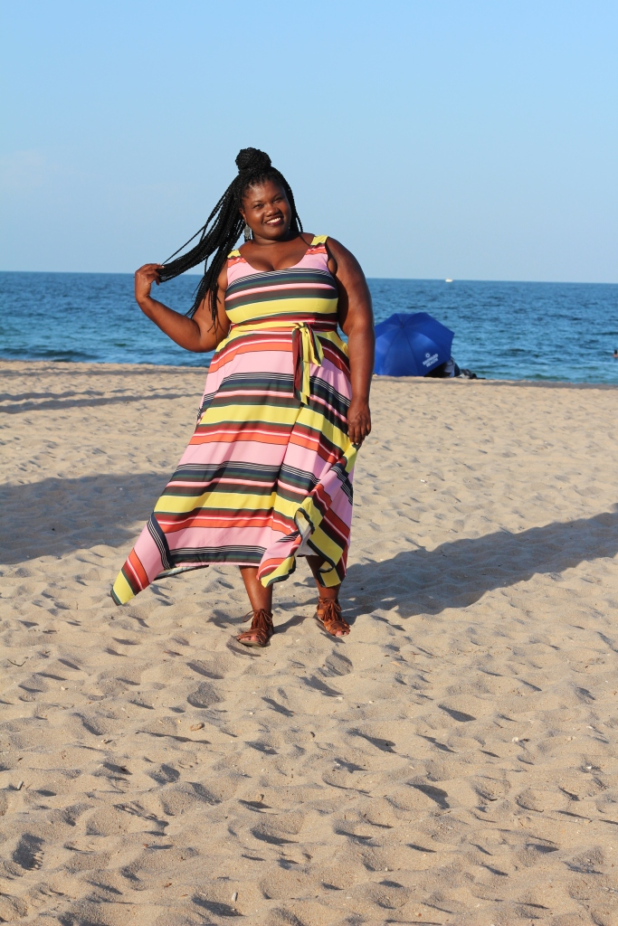 maxi dress, stripe dress, stripe maxi dress, plus size fashion, plus size dresses, fort lauderdale beach, plus size fashion blog, plus size blog, plus size blogger, curvy, curvy women, curvy girls, curvy bloggers, curvy blogs, curvy fashion blogs
